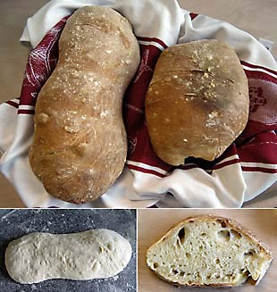 Amy's Crusty Italian Loaf