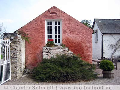 Ballymaloe Cookery School - the pink cottage