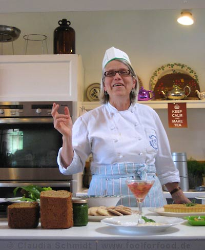 Darina Allen in der Ballymaloe Cookery School