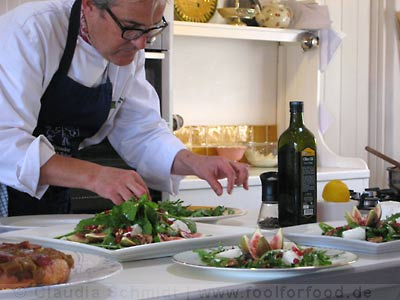 Rory O'Connell in der Ballymaloe Cookery School