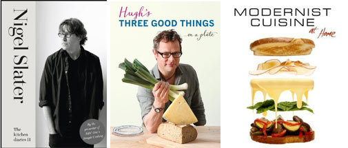 Kochbücher 2012 - Nigel Slater, Hugh Fearnley-Whittingstall, modernist cuisine - foolforfood.de